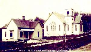 Center 6- 4 Churches Methodist Pllus Pasonage Glenwood